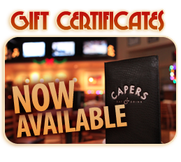 capers gift certificates