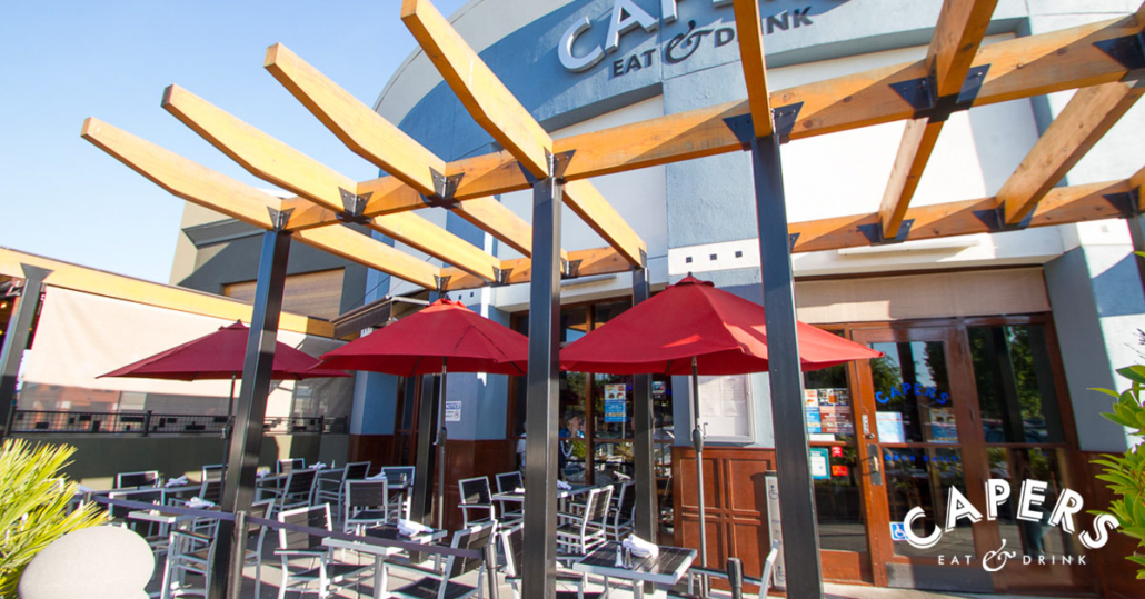 Capers Patio in Campbell